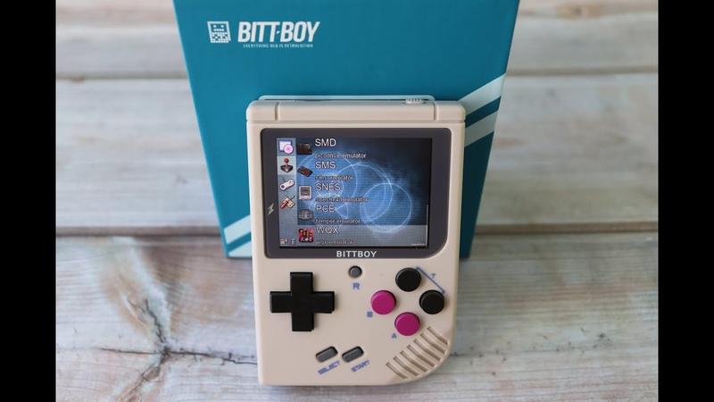 Портативная игровая консоль New BittBoy Version 3 Распаковка AliExpress