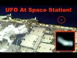 UFO At Space Station On Live NASA Cam During Spacewalk, March 29, 2019, UFO Sighting News.