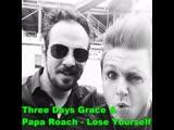 Papa Roach &amp Three Days Grace - Lose Yourself