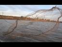 Гигантский улов Кастинговой сетью Рыбалка в Раю