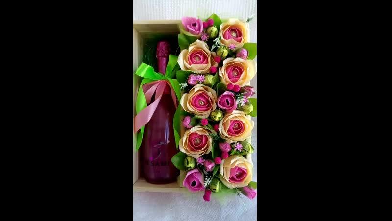 Свит-бокс розовый
