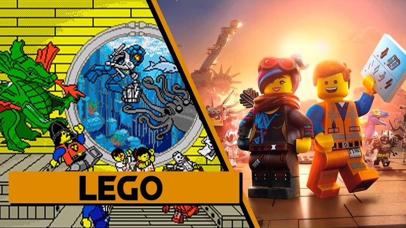 Evolution of Lego Games 1995 2018