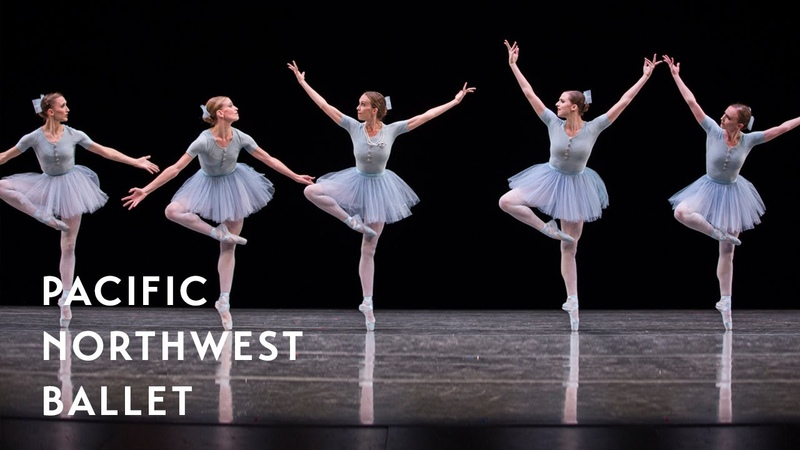 Jerome Robbins' The Concert Mistake Waltz long excerpt Pacific Northwest Ballet