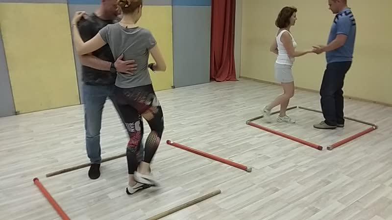 тренируем компактное танцевание:)