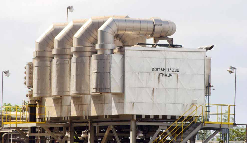 Опреснительные установки часто используют пресноводные генераторы.