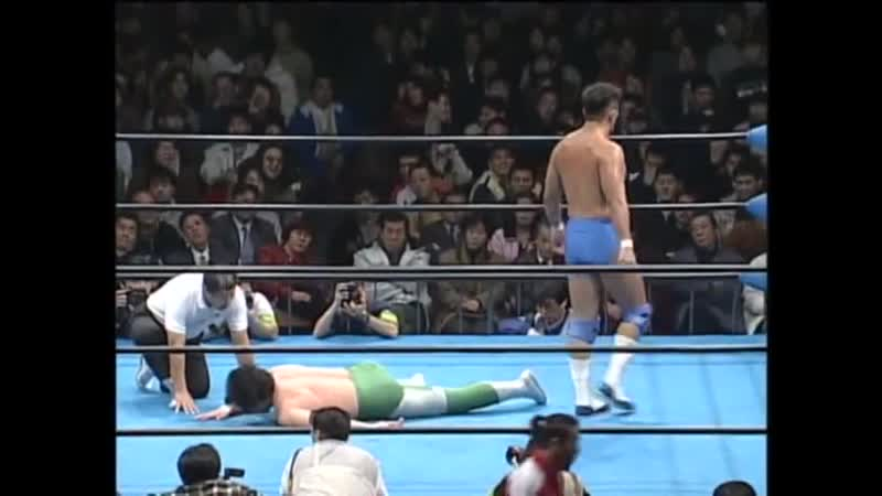 1998.01.26 - Mitsuharu Misawa (c.) vs. Jun Akiyama
