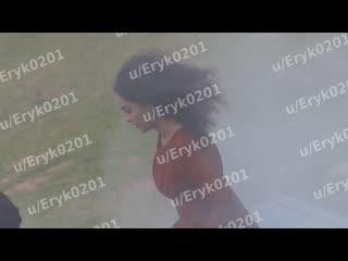 Фрагмент со съёмок «Ведьмака» Netflix