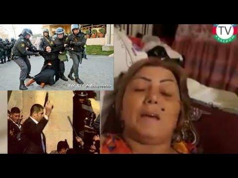 Polis tərəfindın ayağı Sındırılmış ŞƏHİD Ailəsi Biz ANAMIZIN Qanın yerdə QOYMAYACAĞIQ