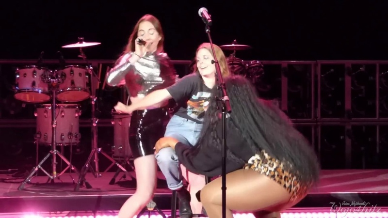 11/15 HAIM - The Girl Is Mine w/Lizzo Maggie Rogers @ Red Rocks Amphitheatre, Morrison, CO 5/28/18