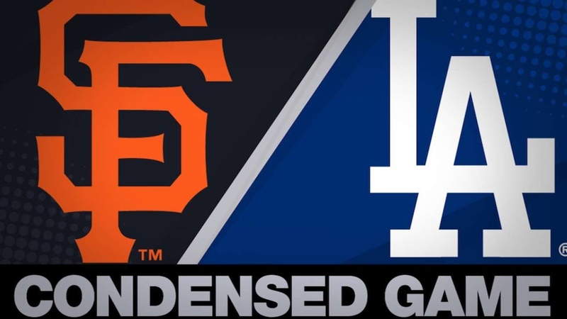 Condensed Game: SF@LAD - 4/1/19
