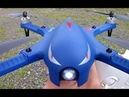 Drocon Bugs 3 $60 BLUE Full Testing Brushless RC Quadcopter Drone Review