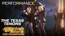 The Texas Tenors Trio Sings Powerful Unchained Melody America's Got Talent The Champions