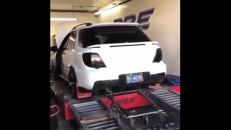 Dyno test Subaru Impreza WRX Wagon