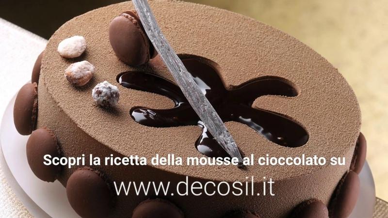 Mousse al Cioccolato con Cremoso alla Vaniglia Step by Step