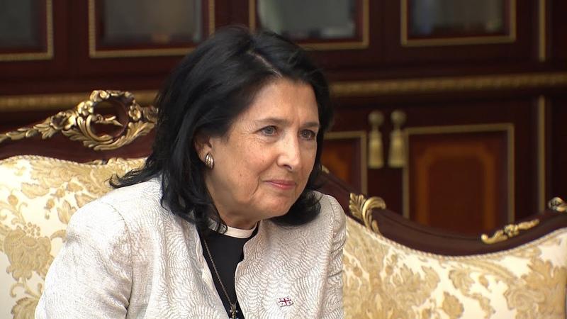Что сказал Александр Лукашенко Саломе Зурабишвили во время её визита