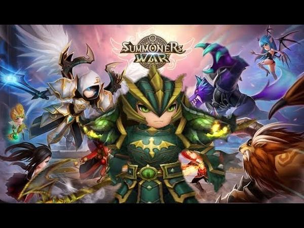Summoners War: Sky Arena Рыцари Драконы