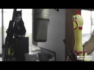 Led zeppelin - immigrant song [rubber chicken cover 🐔]