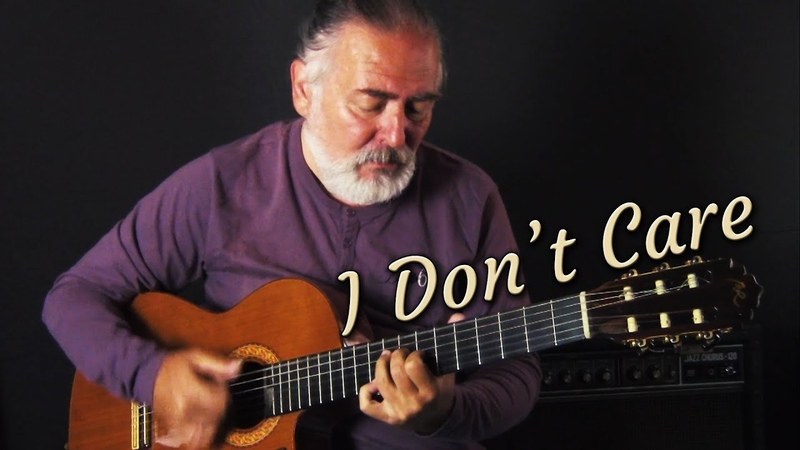 Ed Sheeran Justin Bieber - I Don't Care - Spanish fingerstyle guitar cover