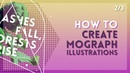 Easy Motion Graphics Illustration Techniques [2/3] | After Effects Tutorial