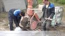 Заливка наливного пола ЛАХТА® механическим способом