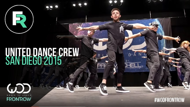 United Dance Crew | 2nd Place Upper Division | FRONTROW | World of Dance San Diego 2015 | WODSD15