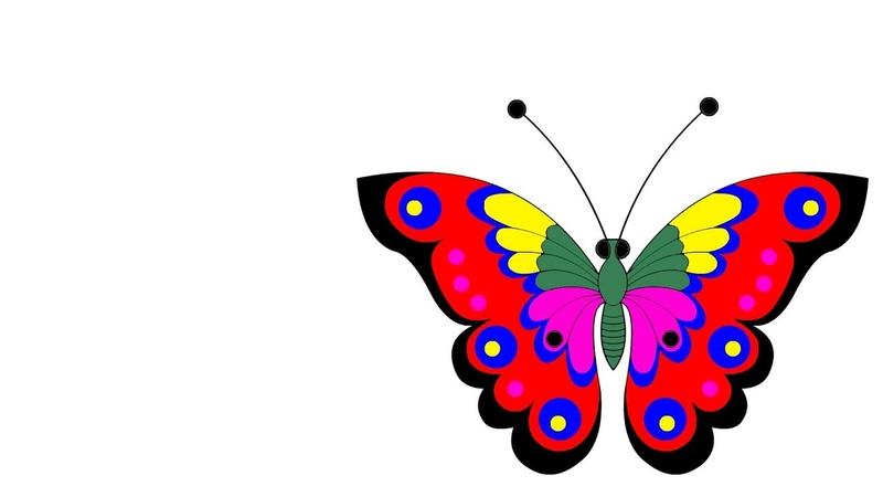 Раскраска Волшебная бабочка пони свинка Пеппа машинка