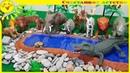 Африка. Животный мир континента. Учим животных African Animals for kids