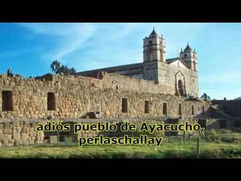 Huayno Adiós pueblo de Ayacucho KARAOKE