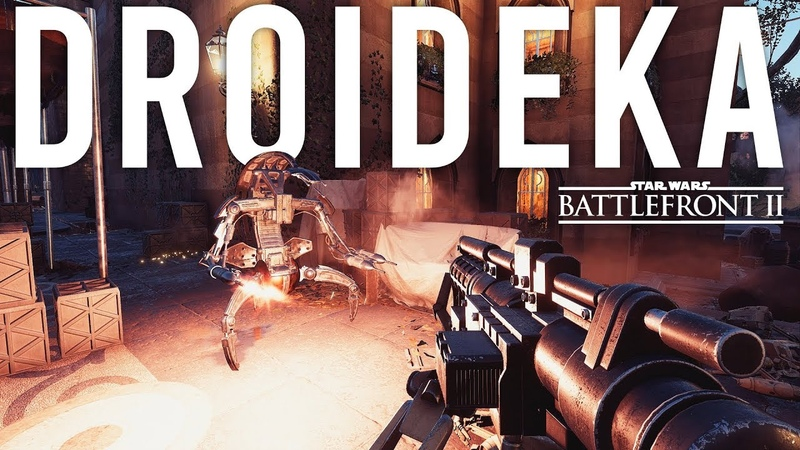 Droideka Star Wars Battlefront 2