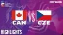 Canada vs Czech Republic Game Highlights