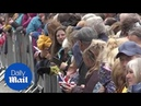 Keswick: Hundreds gather for Prince William and Kate Middleton