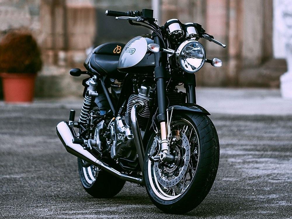 Лимитированный мотоцикл Norton Breitling Sport