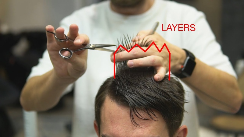 Men's classic haircut tutorial