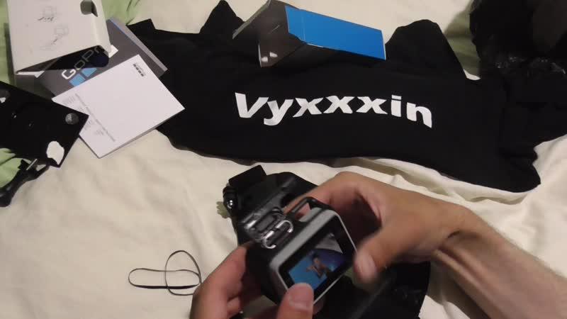 Распаковка и обзор нового крепителя на голову под лоб наголовное крепление для екшен-камеры гоу-про