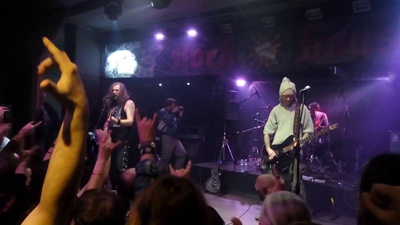 Korrosion в шторме Викинг и меч Rock House Club 01 12 18