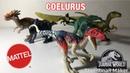 Mattel Jurassic World Dino Rivals Attack Pack Coelurus