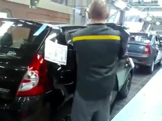 Как собирают Renault в России