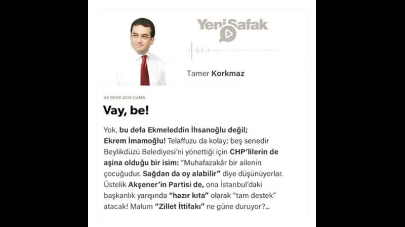 Tamer Korkmaz - Vay, be! - 04.01.2019