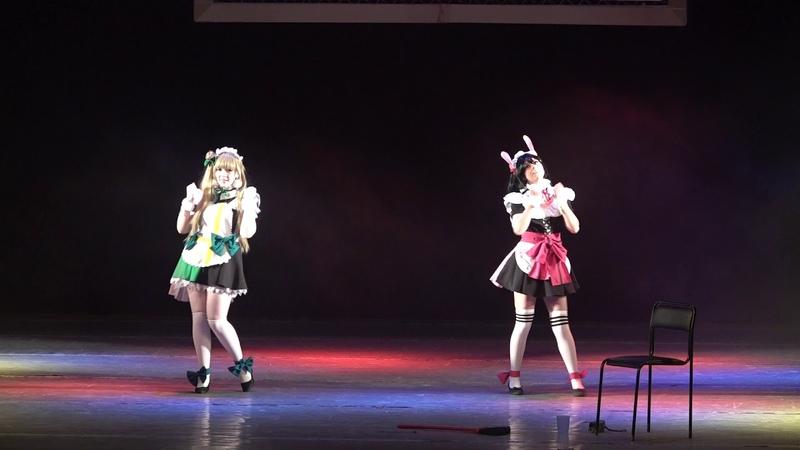 Косбенд Айдолы на подработке - Kotori Minami, Nico Yazawa ( Love Live! School Idol Project)