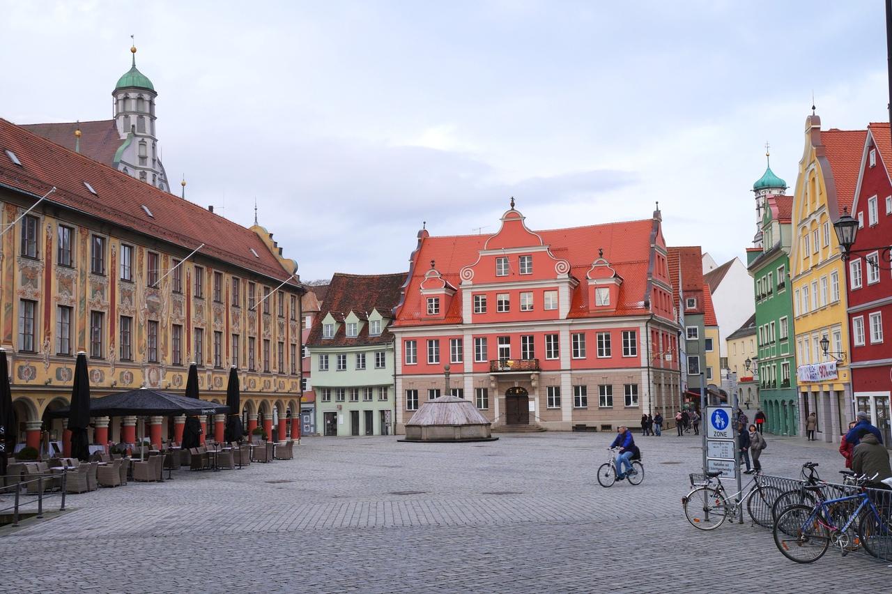 Мемминген - самый симпатичный город Баварии