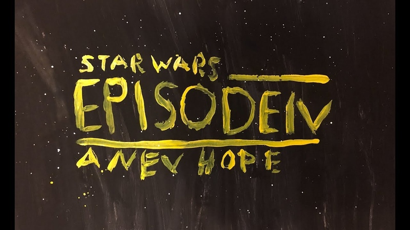 Star Wars. Episode IV A New Hope. Low cost trailer