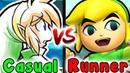 Casual VS Speedrun Zora's Domain Vah Ruta Zelda Breath Of The Wild