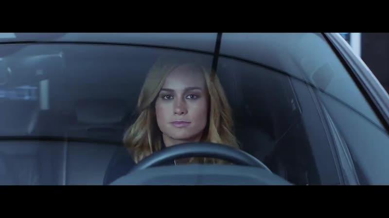 Реклама Audi с Капитаном Марвел