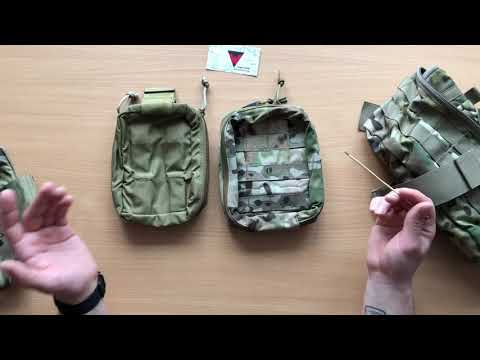 First Spear RANGER MED POUCH и Tactical Tailor FIRST RESPONDER BAG.