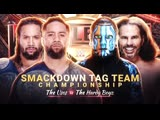 WrestleMania 35 ~ The Usos vs. The Hardy Boyz (SD Tag Team Championship)