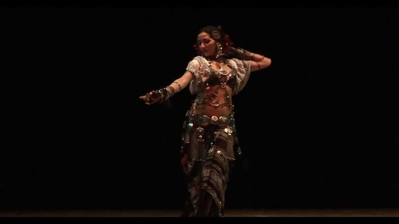Eva Sampedro - Tribal Fusion Dance (Mission Turkish Percussion Darbuka)(15-12-2012).mov