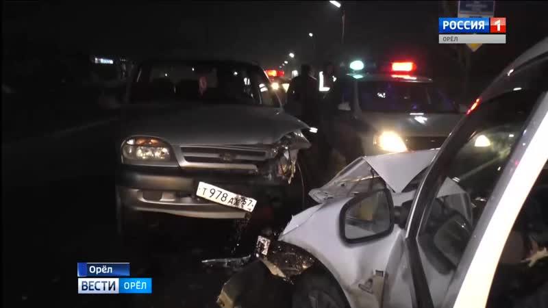 В аварии которая произошла накануне на улице Спивака в Орле погиб водитель