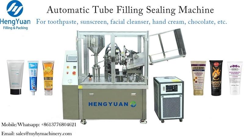 Excellent Performance Tube Filling Sealing Machine for Cream Filler Sealer