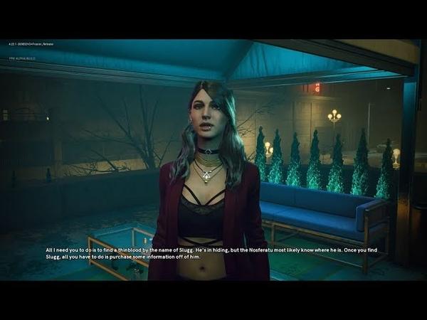 Vampire: The Masquerade - Bloodlines 2 Elif Romance Hint