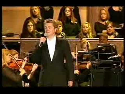 Aled Jones sings Make Me A Channel Of Your Peace